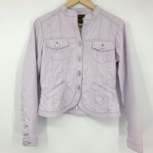 Tommy Bahama 18 Golf After Nine Jacket Lavender M